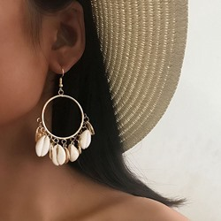 Plain Alloy Korean Party Earrings