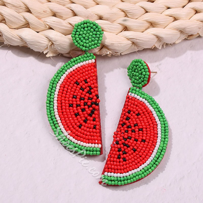 Color Block Sweet Drop Earrings