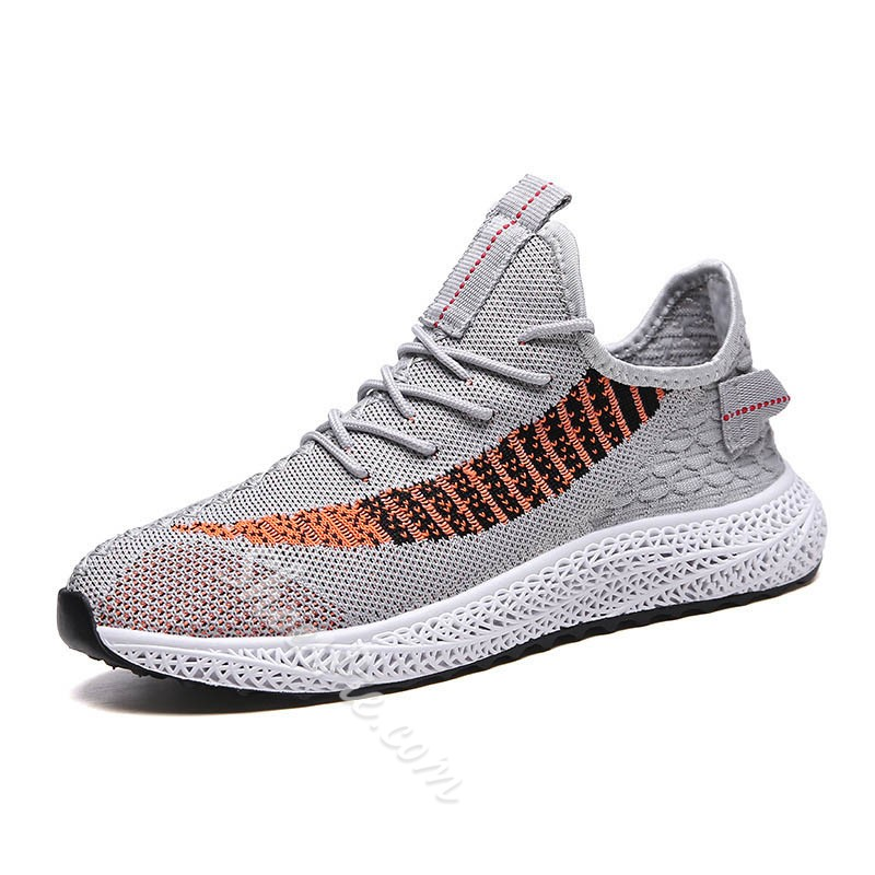 Shoespie Men's Low-Cut Upper Sports Lace-Up Round Toe Sneakers