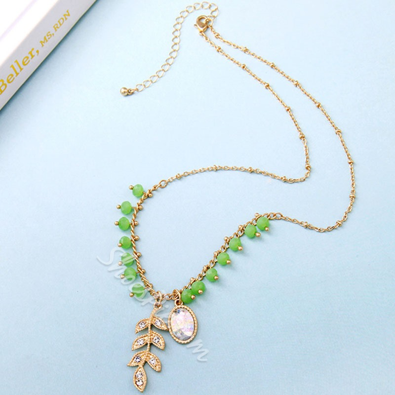 Diamante European Pendant Necklace Female Necklaces