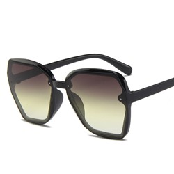 Poly Carbonate Fashion Wrap Sunglasses