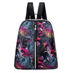 Shoespie Oxford Print Backpacks ( 3 Pattern Random )