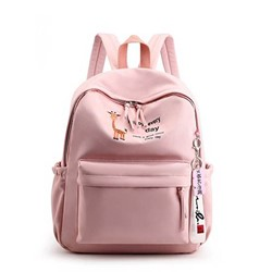 Shoespie Print Oxford Cartoon Backpacks