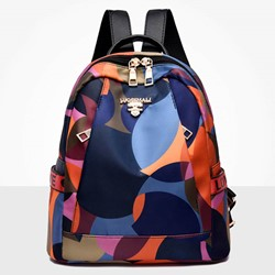 Shoespie Thread Oxford Zipper Backpacks