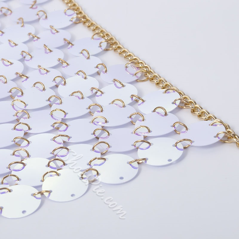 European E-Plating Body Chain Female Necklaces