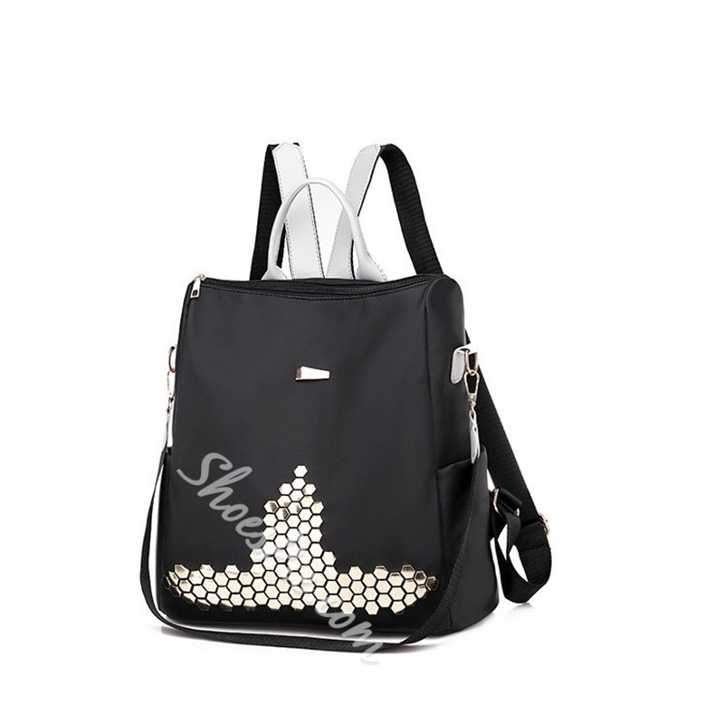 Shoespie Rivet Oxford Backpacks