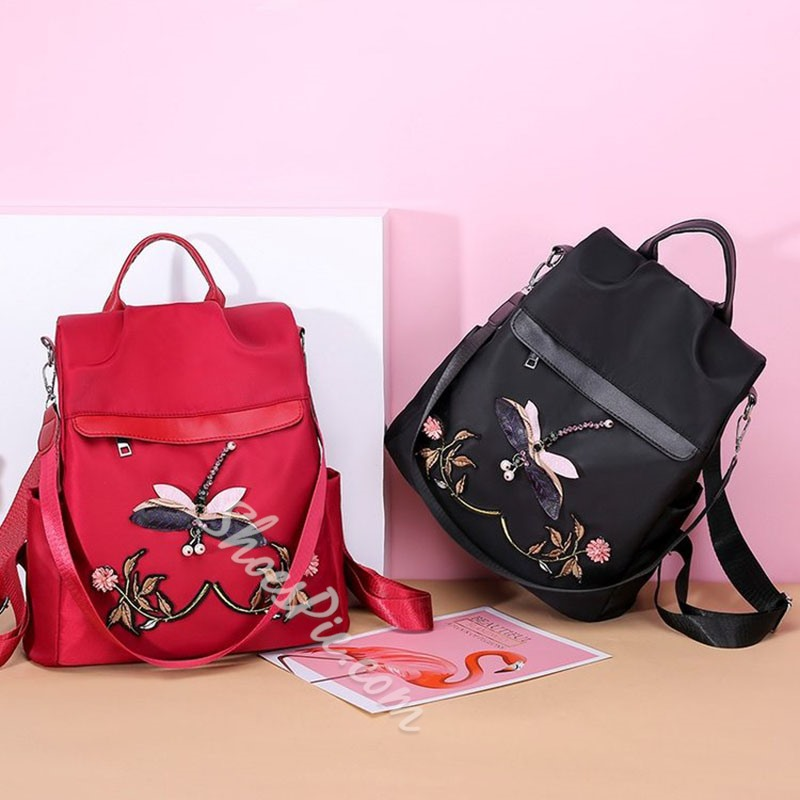 Shoespie Animal Thread Oxford Backpacks