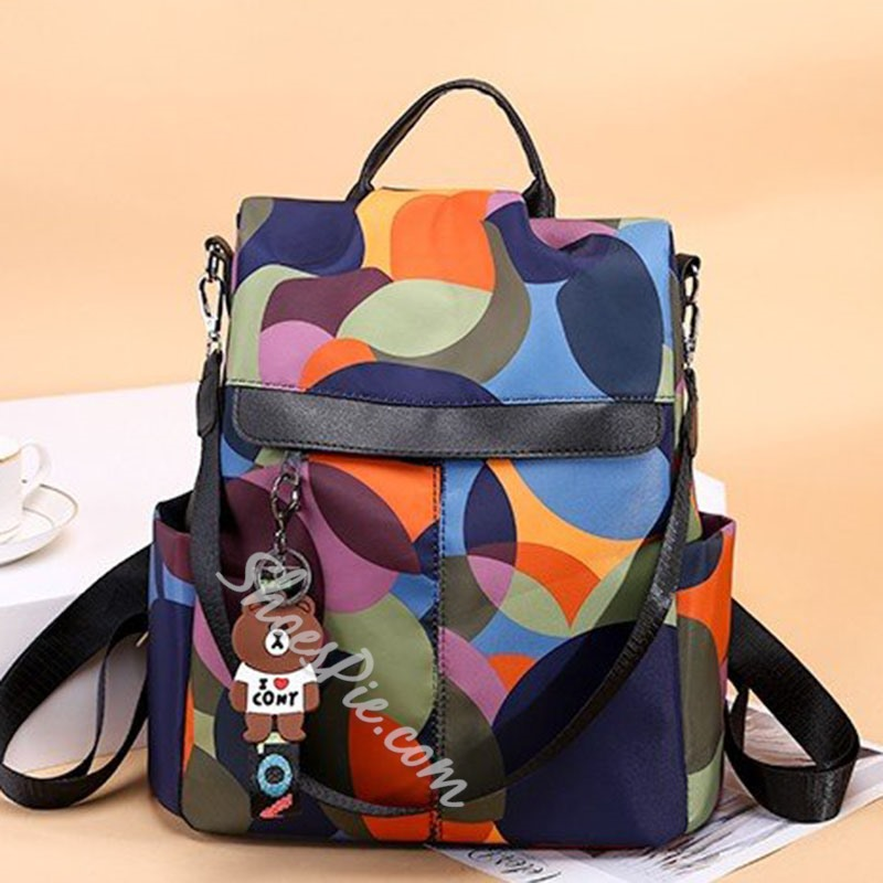 Shoespie Thread Oxford Backpacks