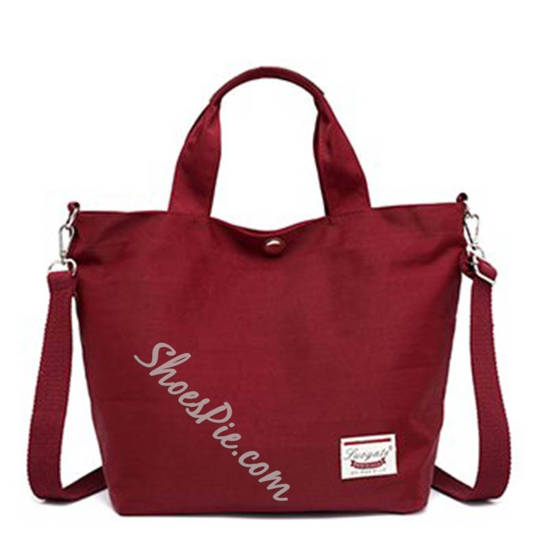 Shoespie Nylon Thread Rectangle Tote Bags