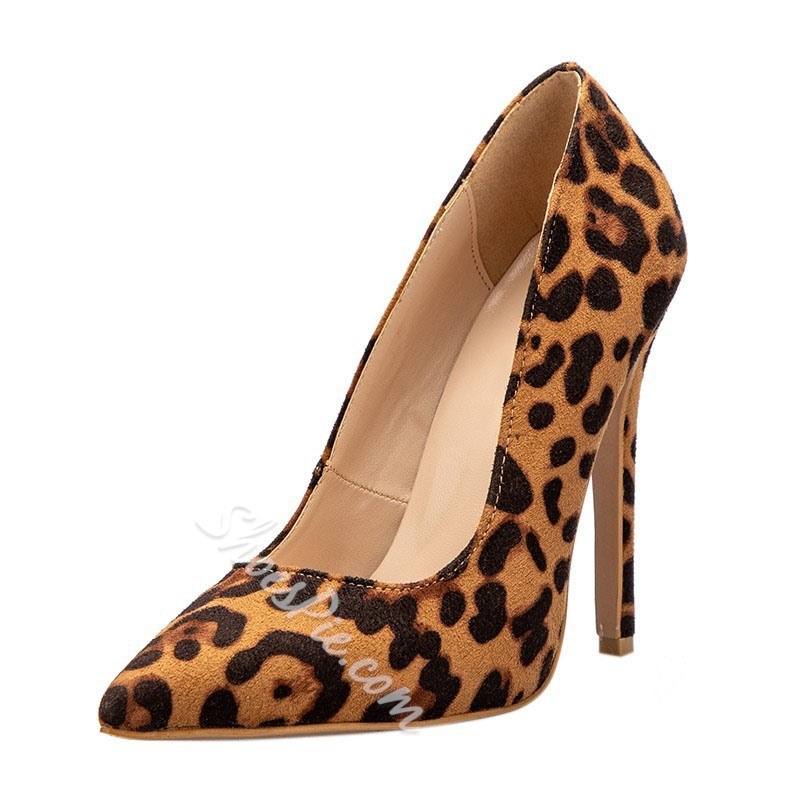 Shoespie Sexy Leopard Stiletto Heel Pumps