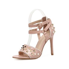 Shoespie Sexy Buckle Open Toe Heel Covering Plain Sandals