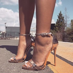 Shoespie Sexy Stiletto Heel Ope Toe Sandals