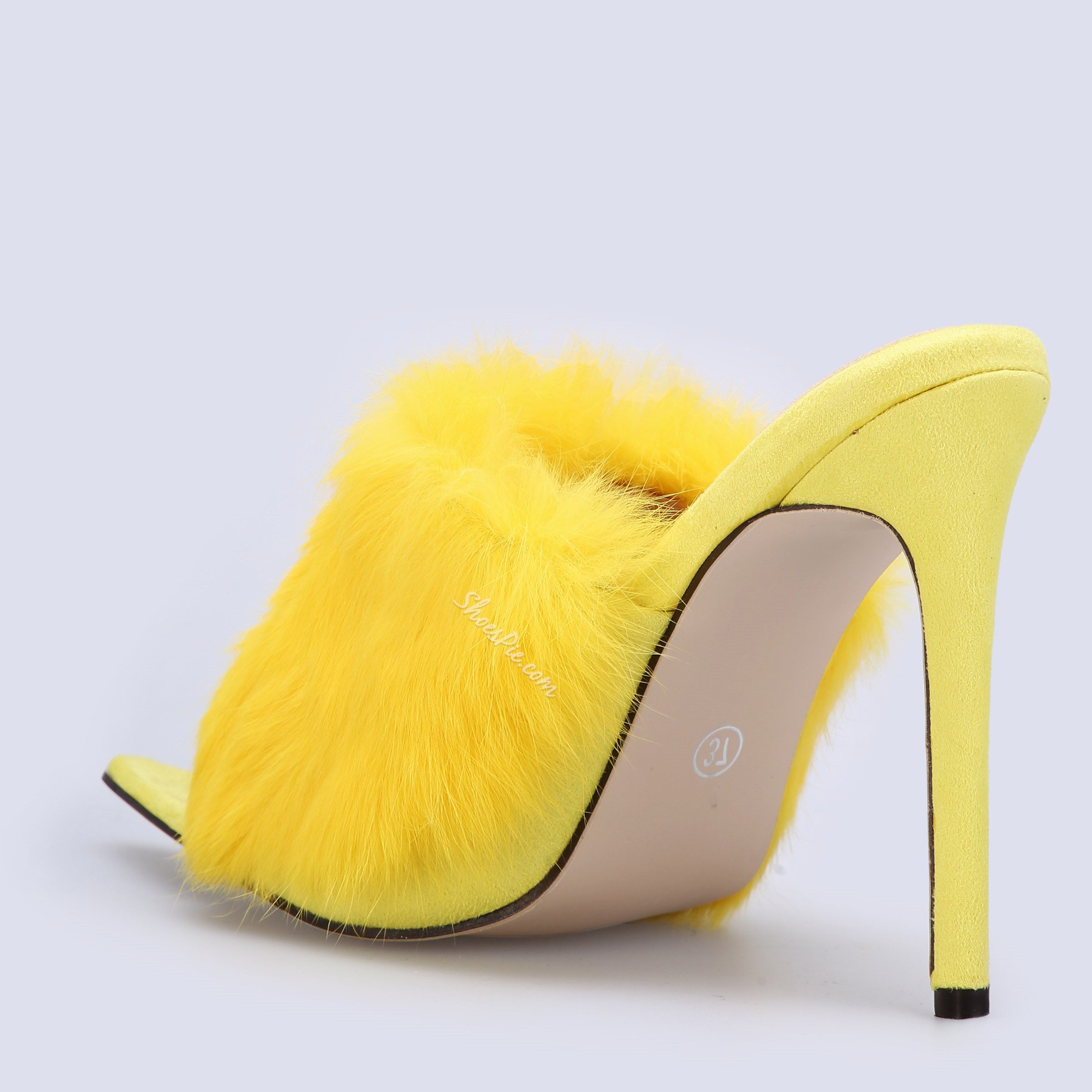Shoespie Sweet Open Toe Stiletto Heel Slippers