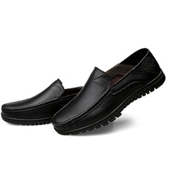 Shoespie Men's Slip-OnSlip-On Low-Cut Upper Plain Round Toe Thin Shoes