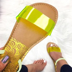 Shoespie Clear Flat Summer Sandals