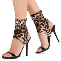 Shoespie Sexy Stiletto Heel Open Toe Zipper Casual Sandals