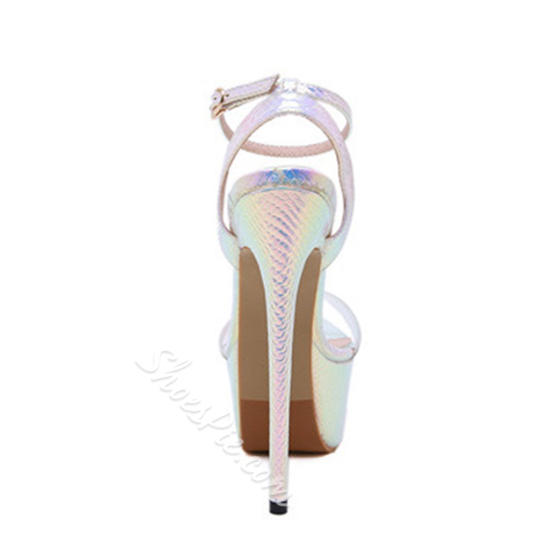 Shoespie Sexy Stiletto Heel Open Toe Buckle Sandals