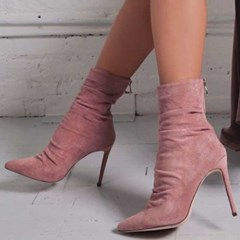 Shoespie SexyZipper Stiletto Heel Ankle Boots