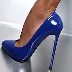 Shoespie Sexy Slip-On Stiletto Heel Pointed Toe Pumps