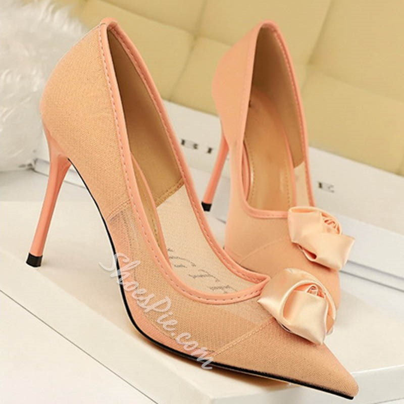 Shoespie Sexy Slip-On Thread Stiletto Heel Banquet Thin Shoes