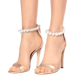 Shoespie Trendy Open Toe Zipper Heel Covering Casual Sandals