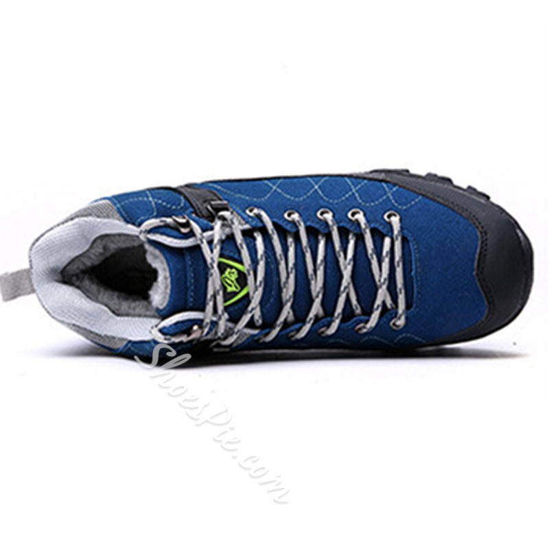Shoespie Men's Lace-Up Flat With Sports Round Toe Sneakers