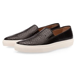 Shoespie Men's Low-Cut Upper Plain Slip-On Round Toe Thin Shoes