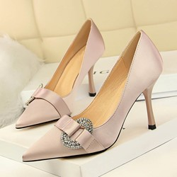 Shoespie Trendy Slip-On Stiletto Heel Pointed Toe Ultra-High Heel Thin Shoes