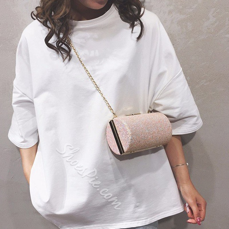 Shoespie Chain Circular Crossbody Bags