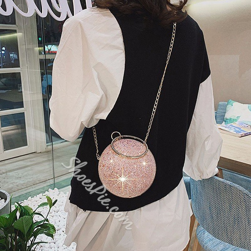 Shoespie Chain Circular Tote Bags