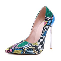 Shoespie Trendy Pointed Toe Stiletto Heel Serpentine Low-Cut Upper Thin Shoes