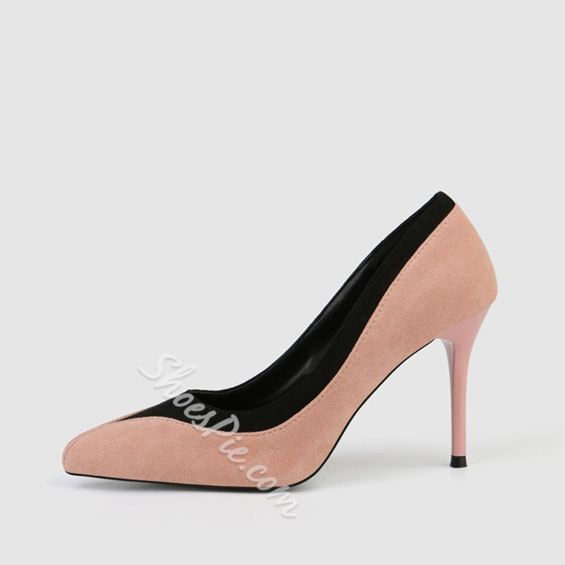Shoespie Trendy Pointed Toe Stiletto Heel Slip-On Ultra-High Heel Thin Shoes