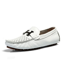 Shoespie Men's Slip-On Low-Cut Upper Plain Round Toe Casual Loafers