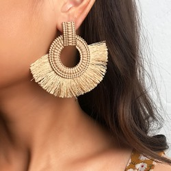 Tassel Plain European TasselEarrings