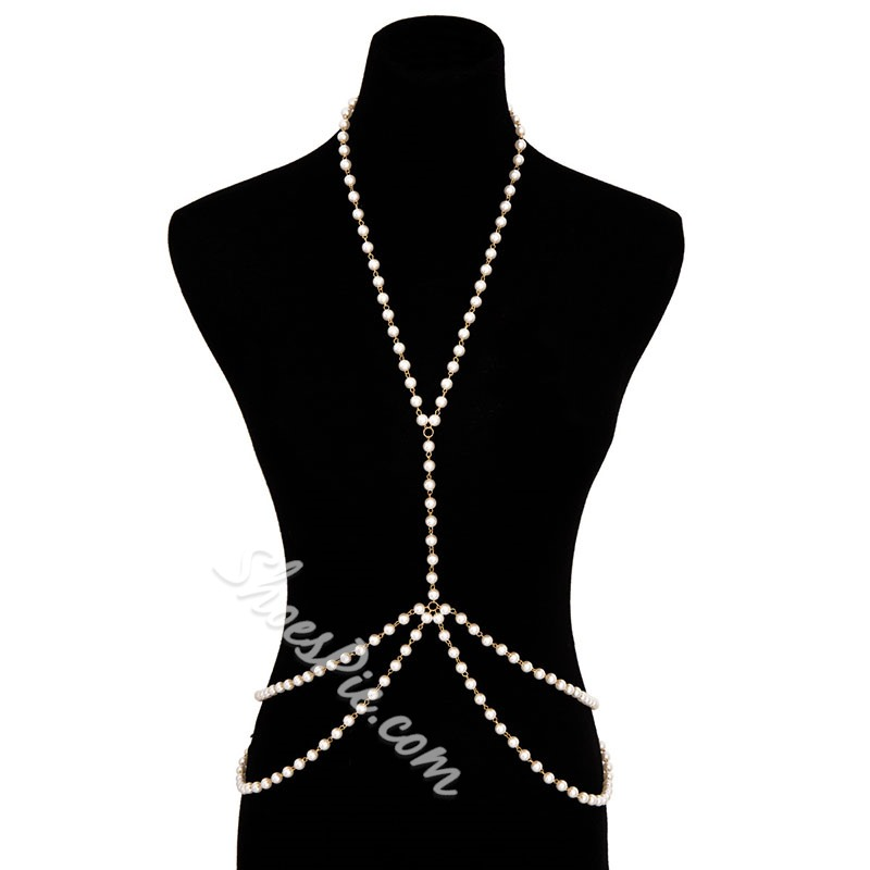 Body Chain European Female Necklaces