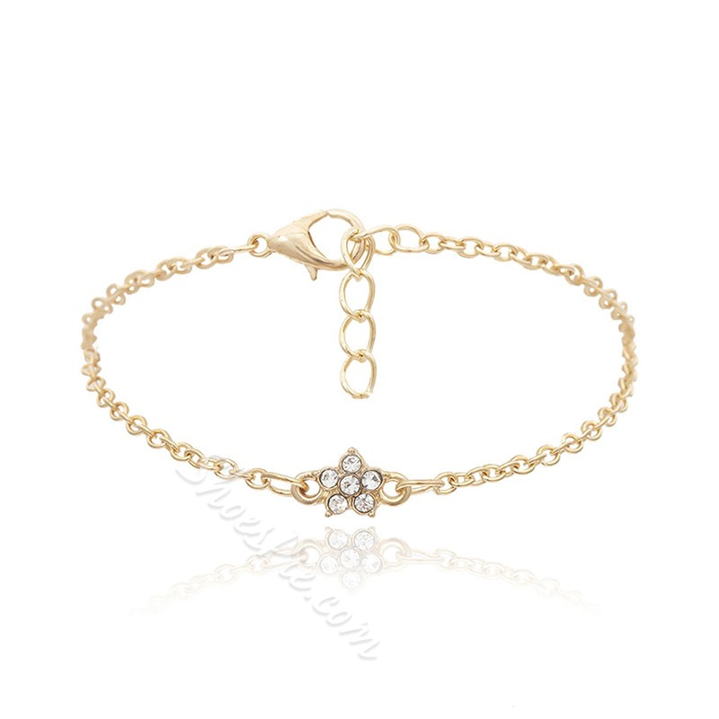 Diamante Vintage Female Bracelets
