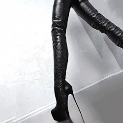 Shoespie Sexy Side Zipper Stiletto Heel Patchwork Sexy Boots