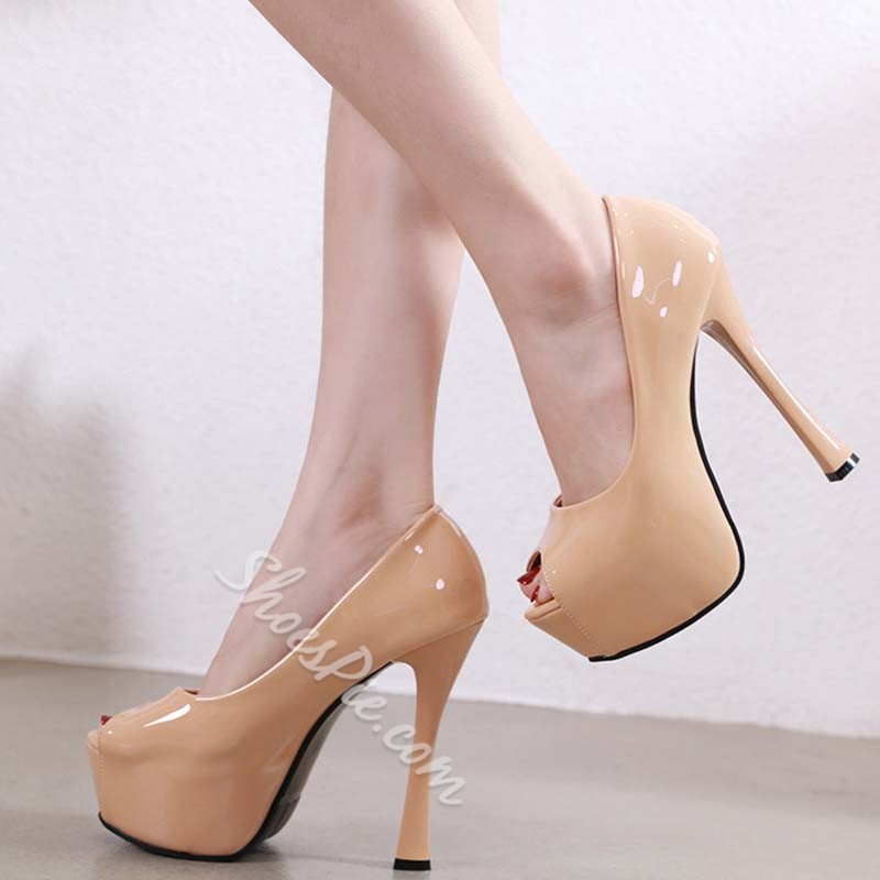 Shoespie Sexy Thread Stiletto Heel Slip-On Casual Thin Shoes