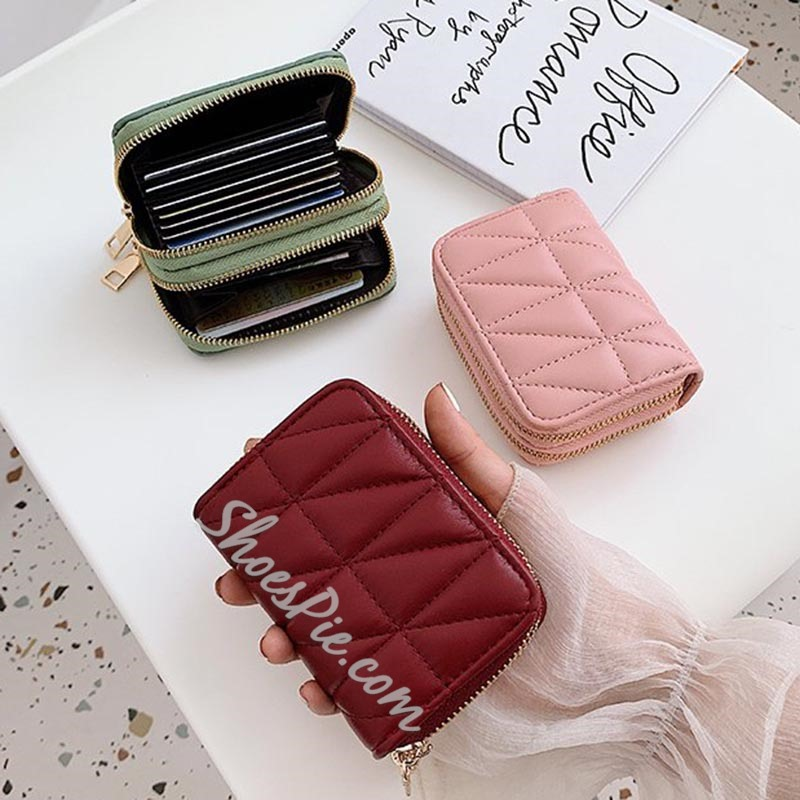 Shoespie Mini Wallet Women PU Wallets