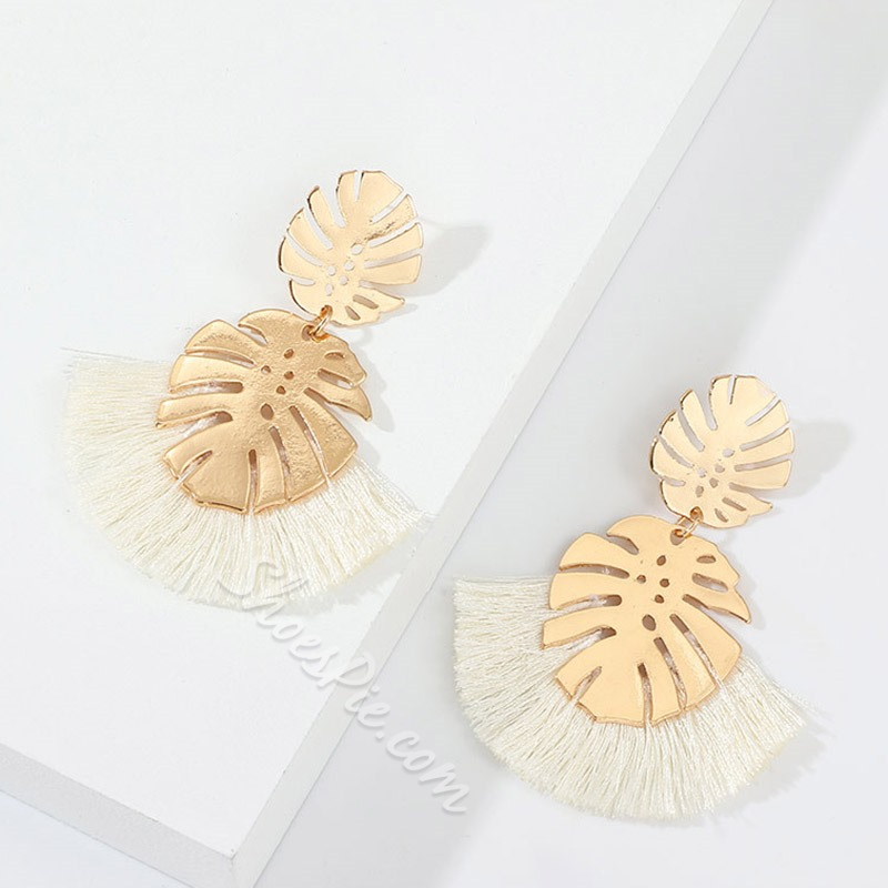European Hollow Out Alloy Party Earrings