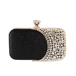 Shoespie Versatile Rectangle Diamond Clutches & Evening Bags