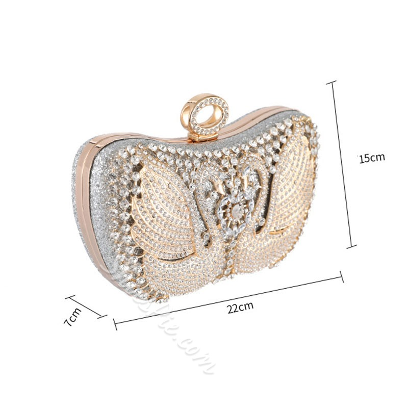 Shoespie Banquet Buckle Clutches & Evening Bags