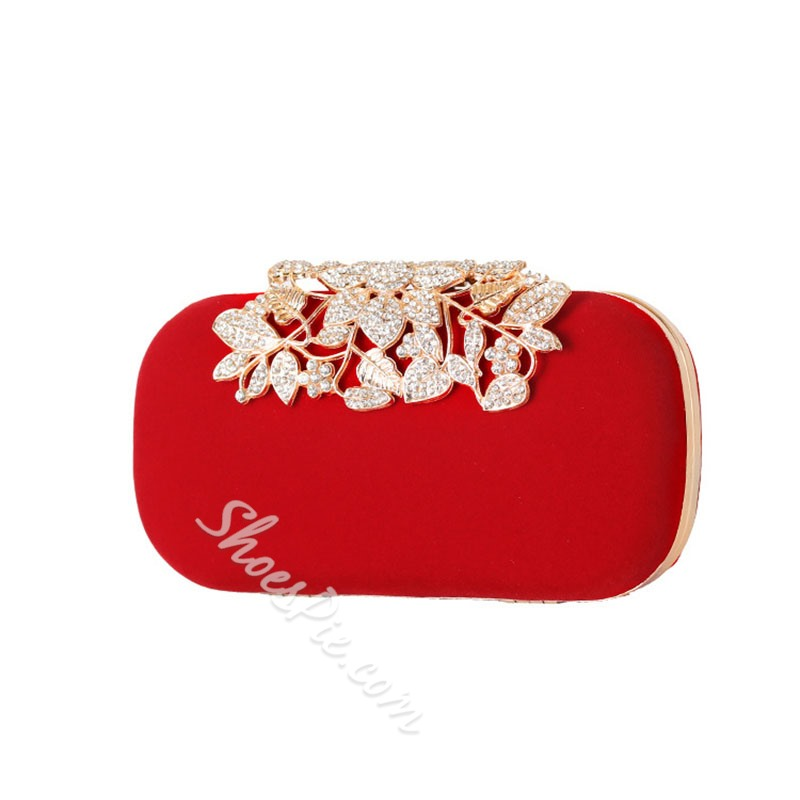 Shoespie Rectangle Buckle Versatile Clutches & Evening Bags