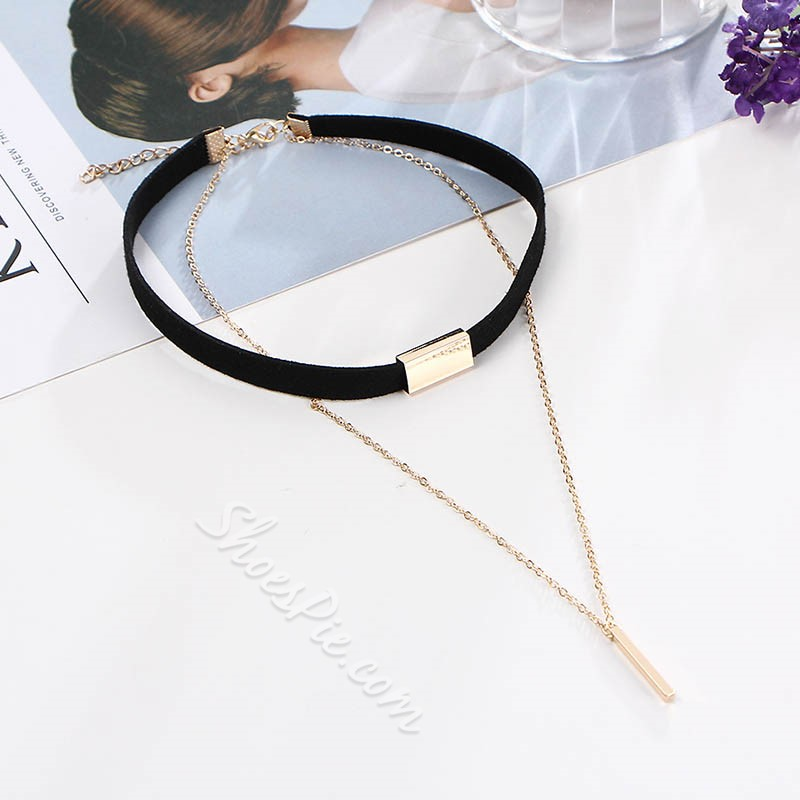 E-Plating Vintage Pendant Necklace Female Necklaces