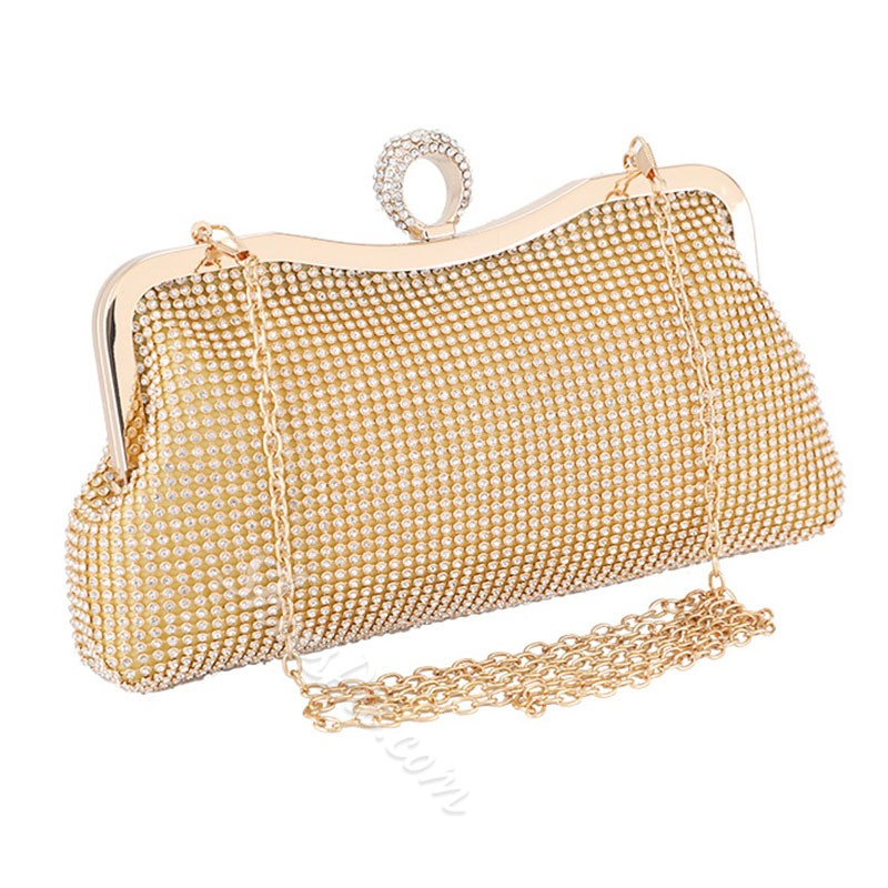 Shoespie Rhinestone Banquet Clutches & Evening Small Bags