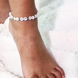 Female Sweet Plain Anklets Anklets