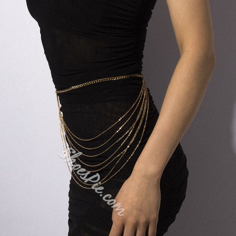 Metal Female WesternWaist Chains
