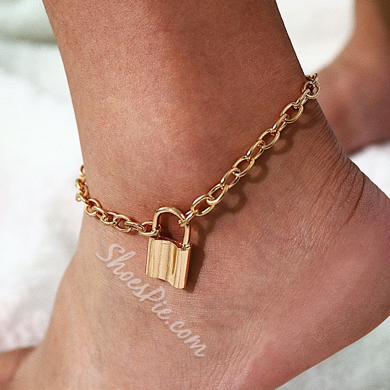 Female European E-Plating Anklets Anklets