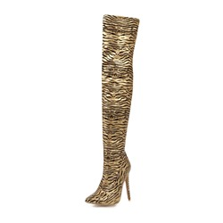 Shoespie Sexy Stiletto Heel Side Zipper Pointed Toe Short Floss Boots