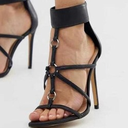 Shoespie Sexy Stiletto Heel Heel Covering Open Toe Sandals